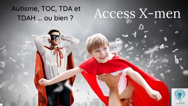 différence relations Access x-men